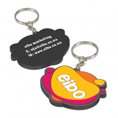 PVC Key Ring - Single Sided