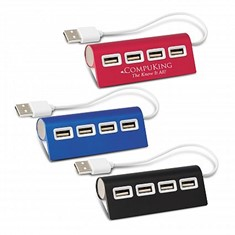 Wave 4 Port USB Hub