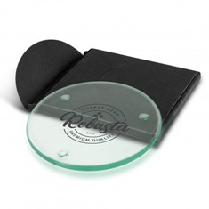 Venice Single Glass Coaster - Round