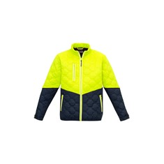 Jim's Mowing Unisex Hexagonal Puffer Jacket