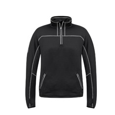 Unisex Streetworx Stretch Micro Fleece 1/4 Zip