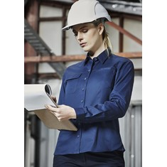 Womens Lightweight Tradie L/S Shirt