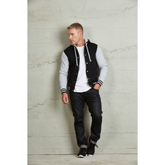 Hooded Unisex Letterman Jacket