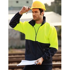 Hi-Vis Polyester Fleece With Full Zip