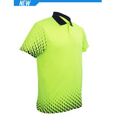 High-Vis Gradient Polo