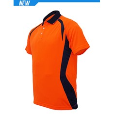 High-Vis Panel Polo