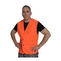 Hi Vis Domed Day Vest - Orange