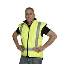 Hi Vis Full PU Flame Retardant Reversible Vest