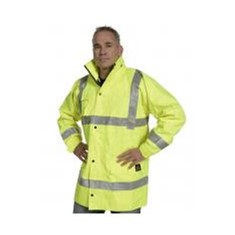 Hi Vis Full PU Flame Retardant Jacket