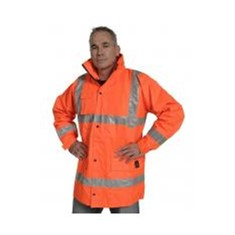 Flame Retardant PU Coated Jacket Orange
