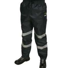 Hi Vis PVC Coated Rain Pants