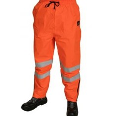 PU Coated Rain Trousers Orange