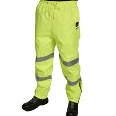 PU Coated Rain Trousers Yellow